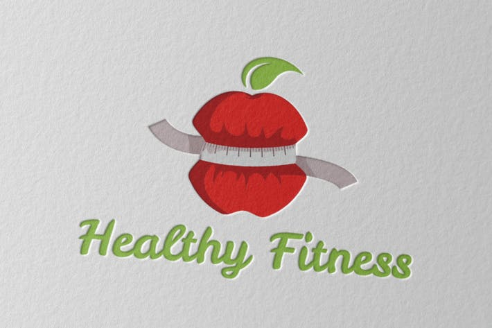 Thumbnail for Healthy Fitness Logo