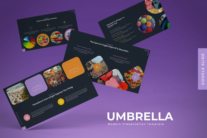 Thumbnail for Umbrella - Google Slide Template