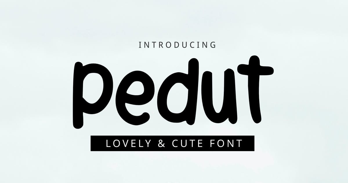 Download Pedut Font by yandidesigns