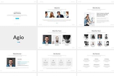 Agio : Powerpoint Presentation