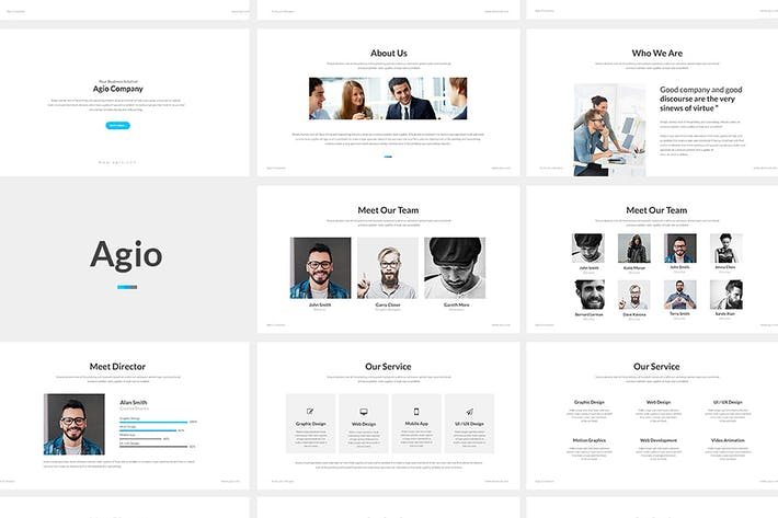 Cover image for Presentation templates