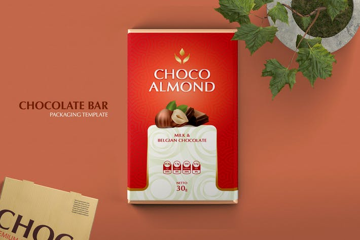 Thumbnail for Chocolate Bar Packaging V2
