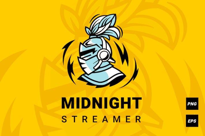 Midnight streamer logotype