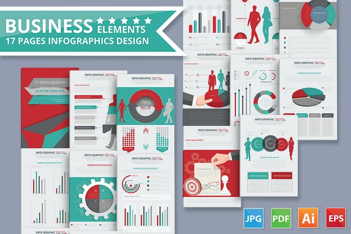Thumbnail for Business Infographic Design