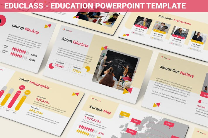Educlass - Education Powerpoint Template