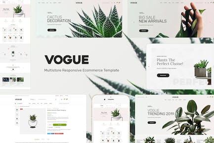 Vogue - Tienda de plantas Opencart Tema