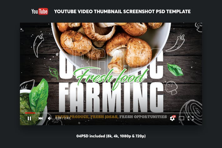 Thumbnail for Organic Farming YouTube Video Thumbnail Screenshot