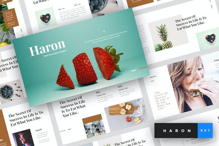 Thumbnail for Haron - Food Keynote Template