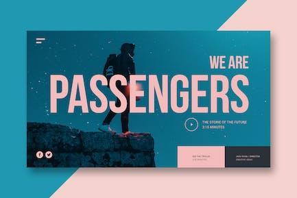 Design & Video - Landing Page
