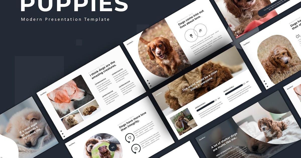 Download Puppies - Keynote Template by karkunstudio
