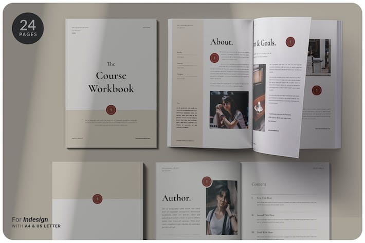 Thumbnail for The Course Workbook | Minimal