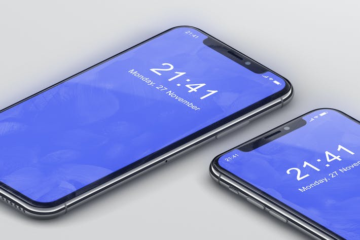 Thumbnail for Мокап iPhone X