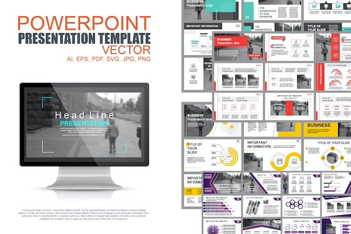 Thumbnail for Шаблоны слайдов для бизнеса Powerpoint