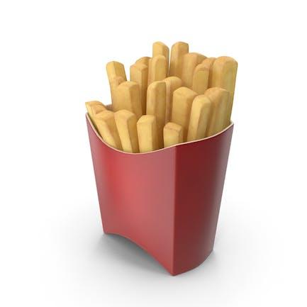 Cartoon Fries