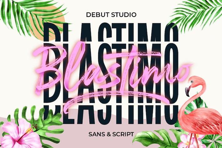 Thumbnail for Blastimo Sans & Script
