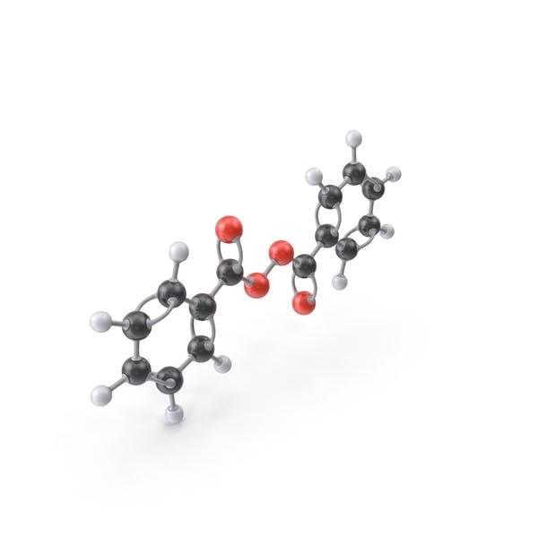 Benzoylperoxidmolekül
