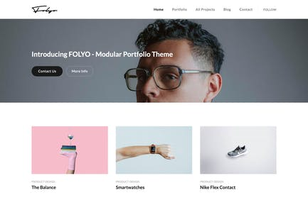 Folyo - Modular Portfolio Theme