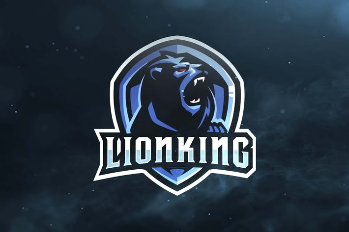Thumbnail for Lionking Sport and Esports Logos