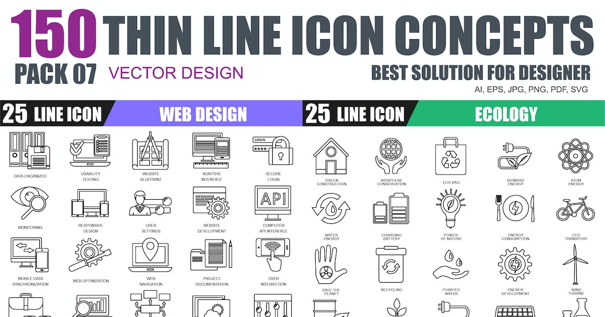 Line icons by Unknow