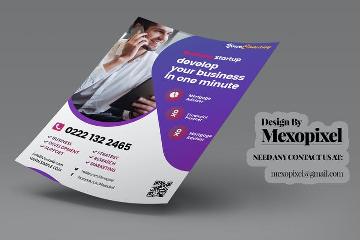 Thumbnail for Corporate Flyer Business Promotion Template