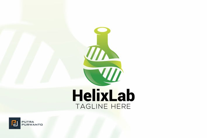 Thumbnail for Helix Lab - Logo Template