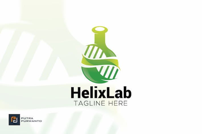 helix lab logo template by putra purwanto on envato elements