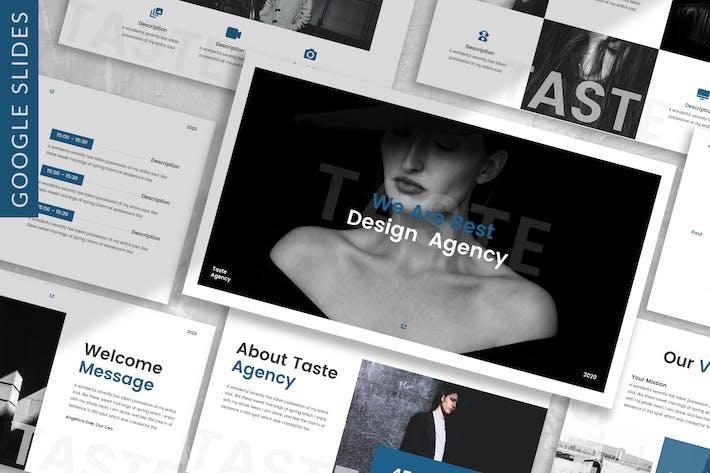 Thumbnail for Taste - Business Google Slide Template