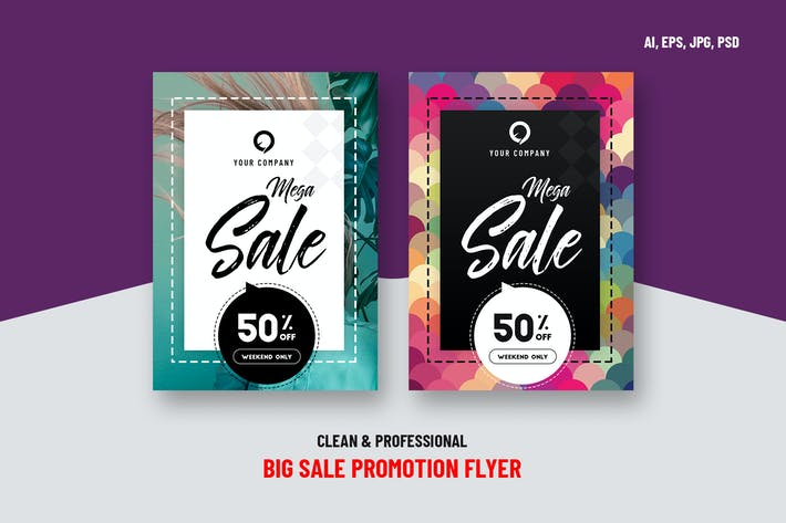 Thumbnail for Big Sale Promotion Flyer