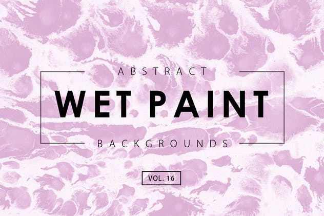 Wet Paint Backgrounds Vol. 16 - product preview 0