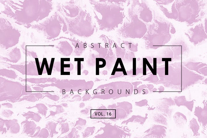 Thumbnail for Wet Paint Backgrounds Vol. 16