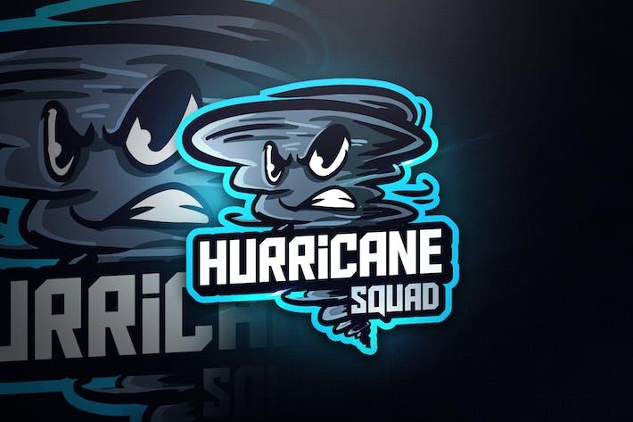 Thumbnail for Hurricane Squad - Mascot & Esport Logo