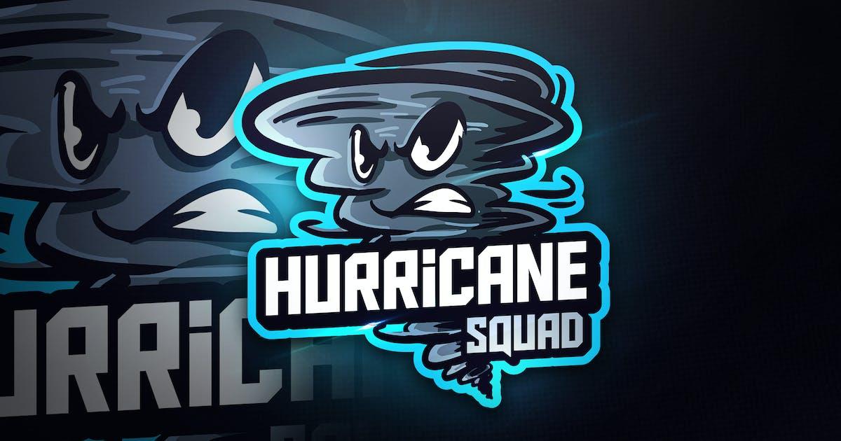 Download Hurricane Squad - Mascot & Esport Logo by aqrstudio
