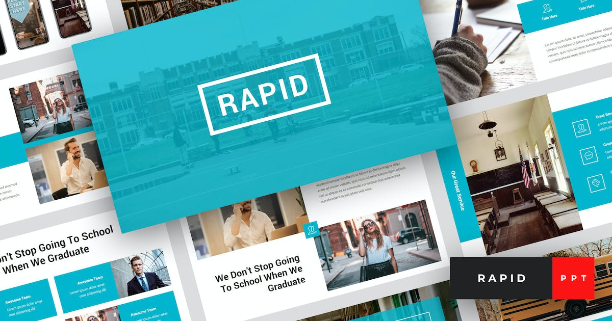Download Rapid - Education & School PowerPoint Template by StringLabs