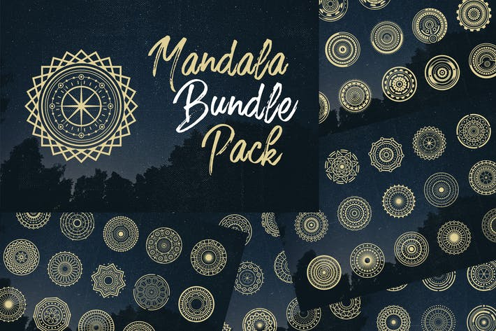 Thumbnail for Mandala Bundle Pack