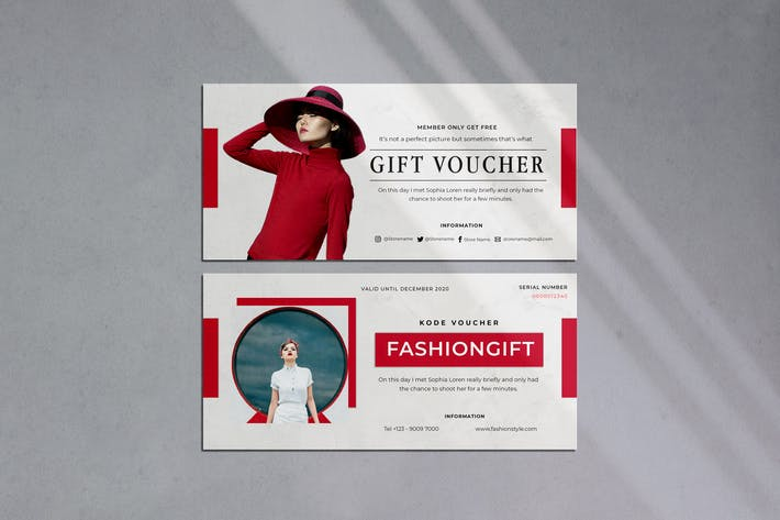 Thumbnail for fashion Gift Voucher
