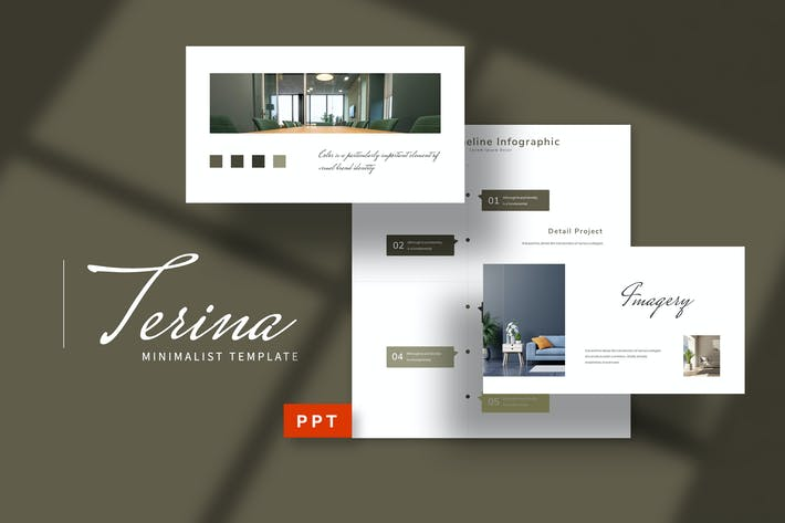 Thumbnail for Terina - Руководство по бренду Powerpoint