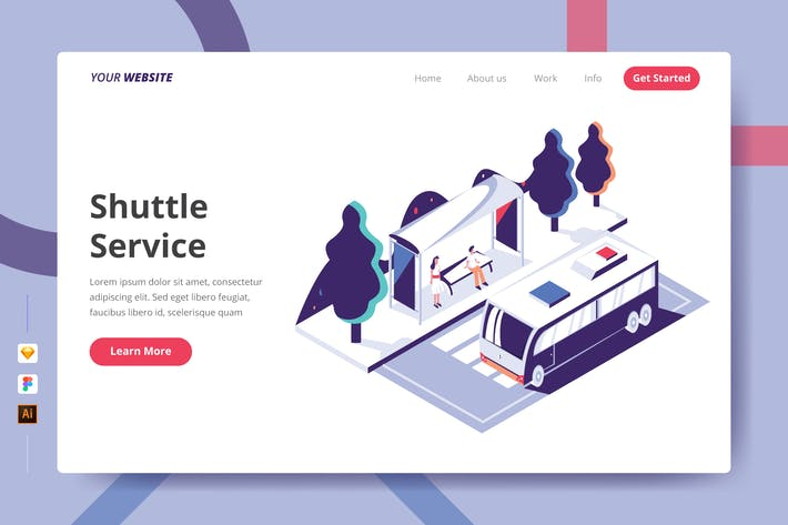 Thumbnail for Shuttle Service - Landing Page