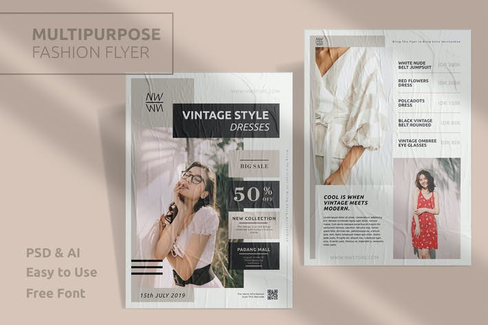 Thumbnail for Fashion Template Flyer Vol.5