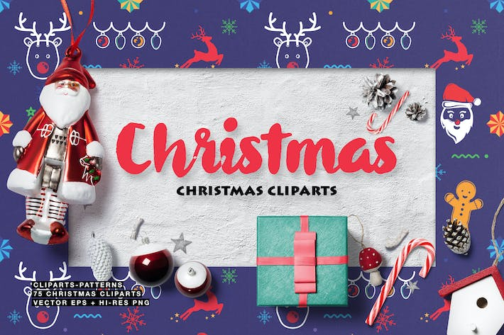 Cover Image For Christmas Cliparts
