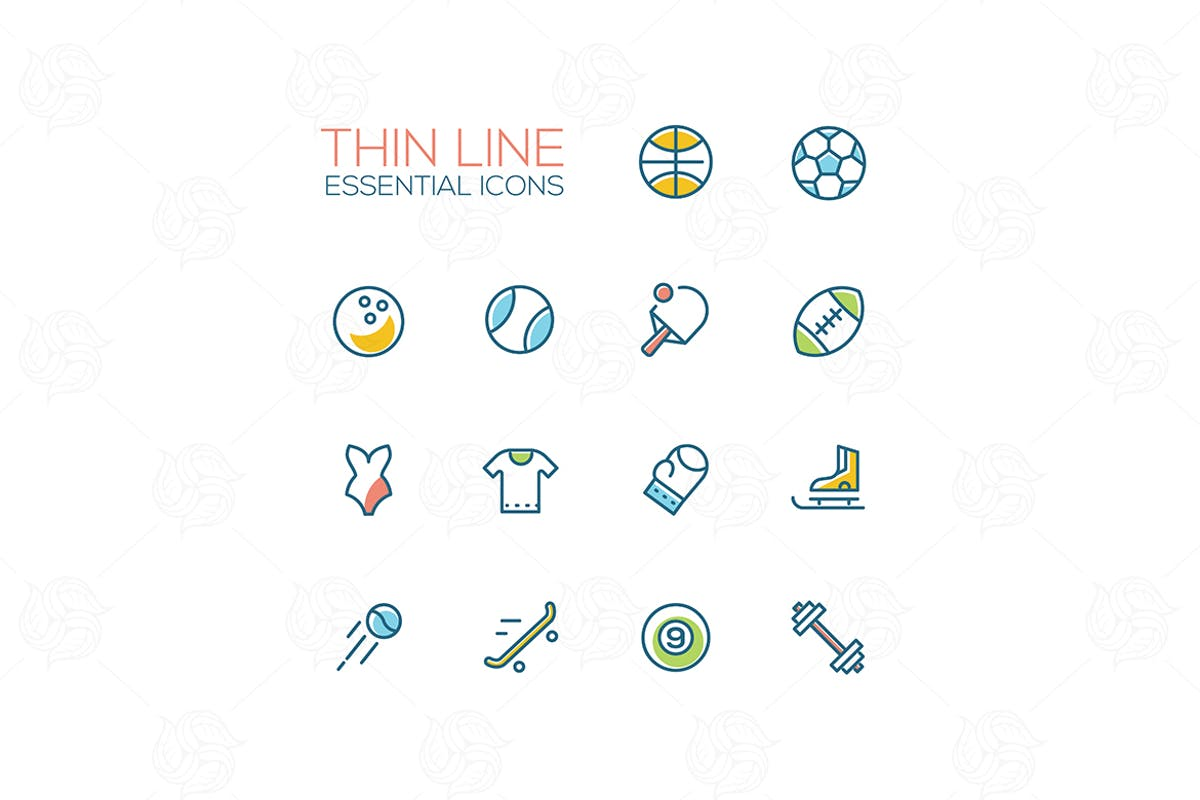 Download Essential icons - modern vector single line icons by BoykoPictures by Unknow