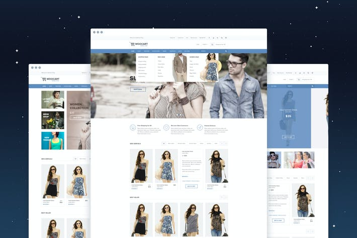 Thumbnail for WooKart - eCommerce PSD Template
