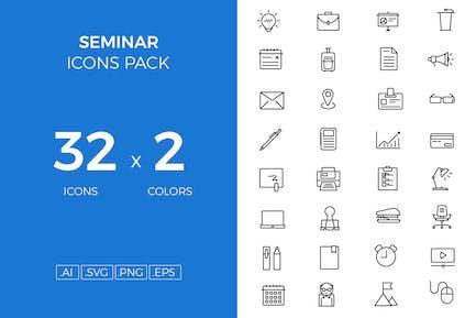 Seminar icons pack