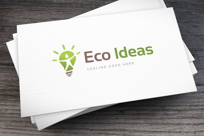 Thumbnail for Eco Ideas Logo Template
