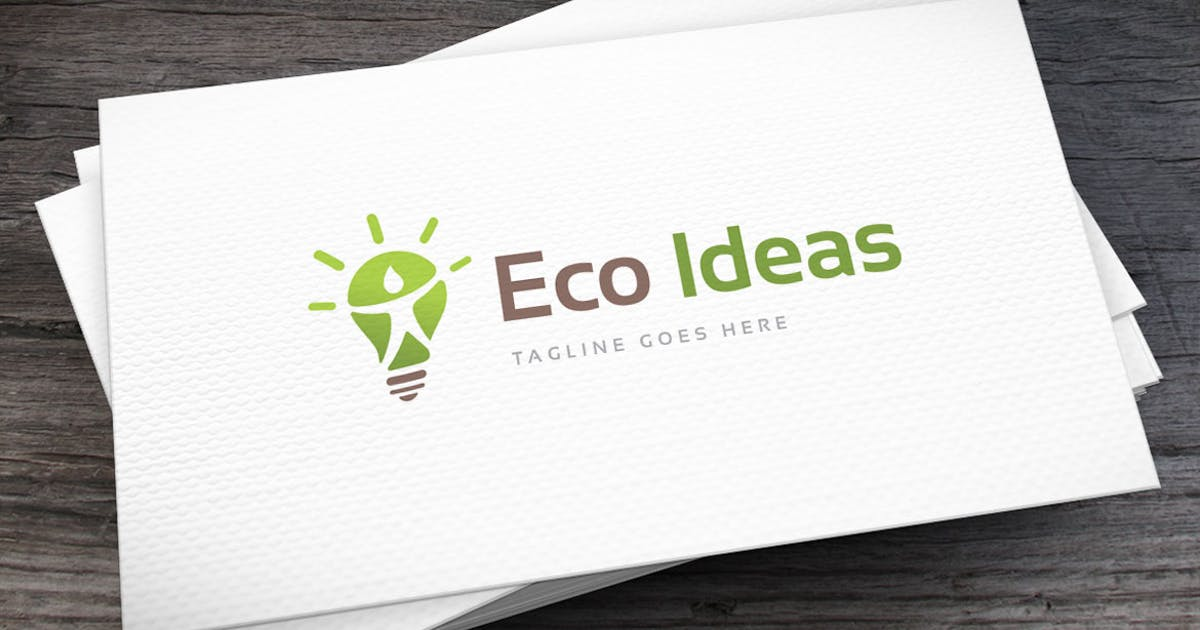 Eco Ideas Logo Template by empativo