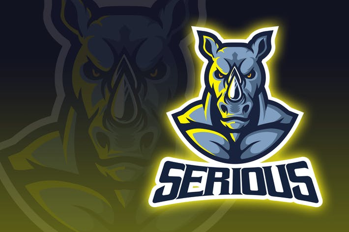 Thumbnail for Intimidating Rhino Esport Logo