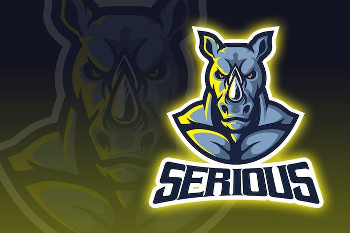 Thumbnail for Intimidatorio Logo de Rhino Esport