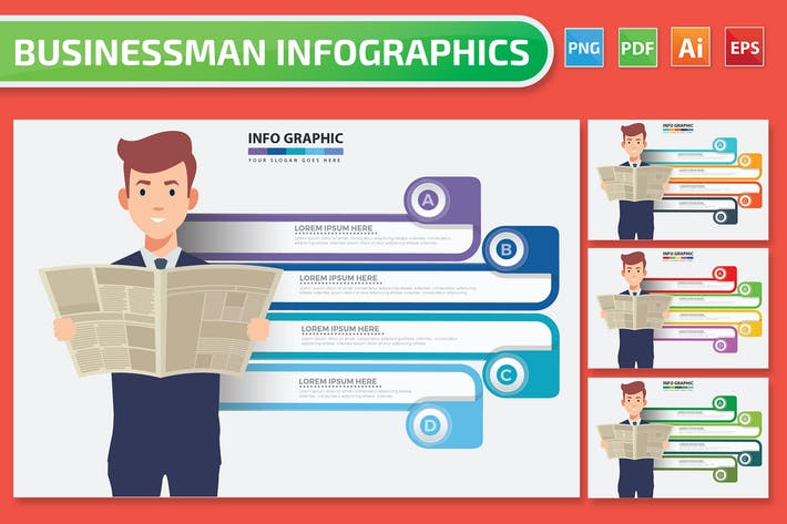 Businessman Infographics
