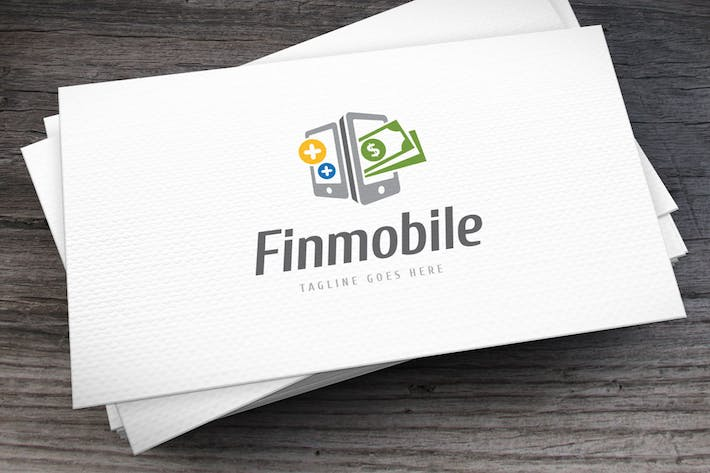 Finmobile Logo Template