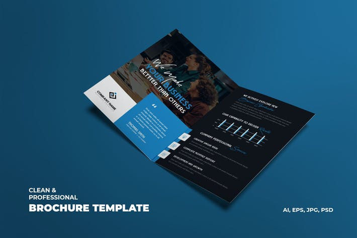 Thumbnail for Creative Business & Corporate Brochure Template