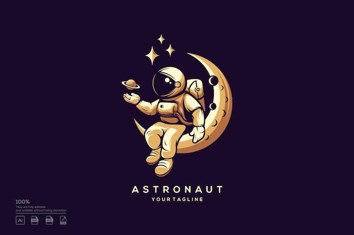 Thumbnail for Diseño del Logo de astronauta.